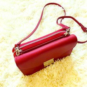 2in1 Red crossbody women' handbag
